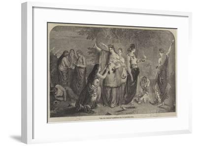 The Ten Virgins-James Eckford Lauder-Framed Giclee Print