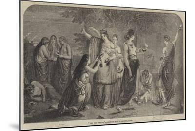The Ten Virgins-James Eckford Lauder-Mounted Giclee Print