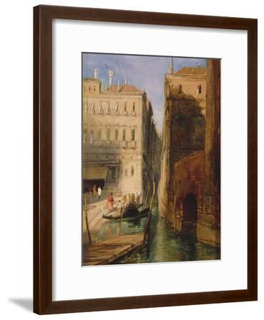 Venice-James Holland-Framed Giclee Print