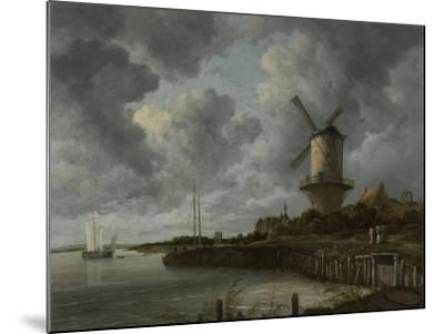 The Windmill at Wijk Duurstede, C.1668-70-Jacob Isaaksz Ruisdael-Mounted Giclee Print