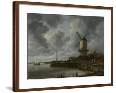 The Windmill at Wijk Duurstede, C.1668-70-Jacob Isaaksz Ruisdael-Framed Giclee Print