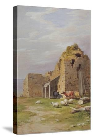 Colqhouny Castle, 1841-James Giles-Stretched Canvas Print