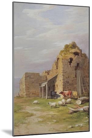 Colqhouny Castle, 1841-James Giles-Mounted Giclee Print