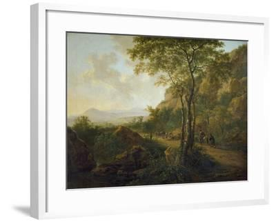 Italianate Landscape with Muleteers-Jan Both-Framed Giclee Print