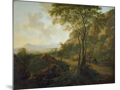Italianate Landscape with Muleteers-Jan Both-Mounted Giclee Print