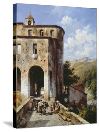 Church of San Spirito-Jacques Carabain-Stretched Canvas Print