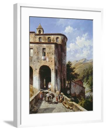 Church of San Spirito-Jacques Carabain-Framed Giclee Print