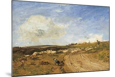 A Breezy Day-James Aumonier-Mounted Giclee Print