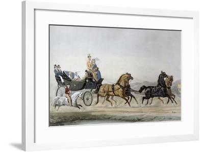 The Walk-James Barenger-Framed Giclee Print