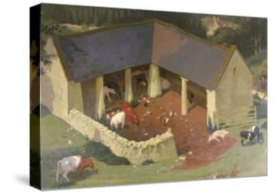 The Field Byre, 1933-James Bateman-Stretched Canvas Print