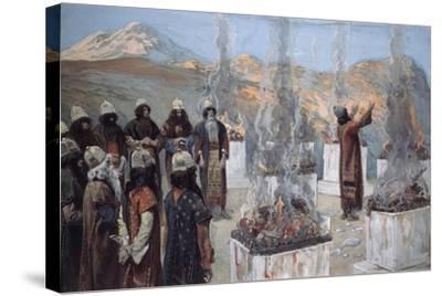 The Seven Altars of Balaam-James Jacques Joseph Tissot-Stretched Canvas Print