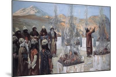 The Seven Altars of Balaam-James Jacques Joseph Tissot-Mounted Giclee Print