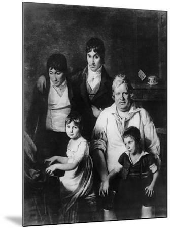 Family Portrait-Jacques Louis David-Mounted Giclee Print