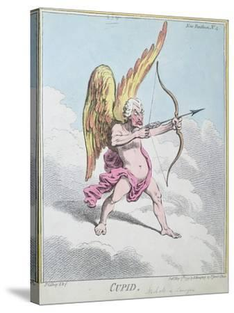 Cupid, Published by Hannah Humphrey in 1799-James Gillray-Stretched Canvas Print