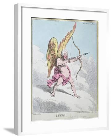 Cupid, Published by Hannah Humphrey in 1799-James Gillray-Framed Giclee Print
