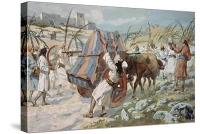 The Chastisement of Uzzah-James Jacques Joseph Tissot-Stretched Canvas Print