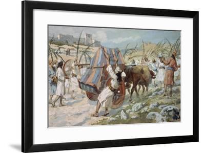 The Chastisement of Uzzah-James Jacques Joseph Tissot-Framed Giclee Print