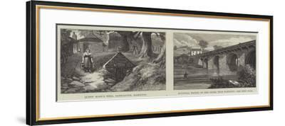 Sketches of Hamilton-James Burrell Smith-Framed Giclee Print
