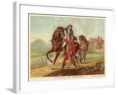 Battle of Marengo, Italy, 1800-Jean-Baptiste Regnault-Framed Giclee Print