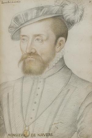 François De Cleves-Jean Clouet-Stretched Canvas Print