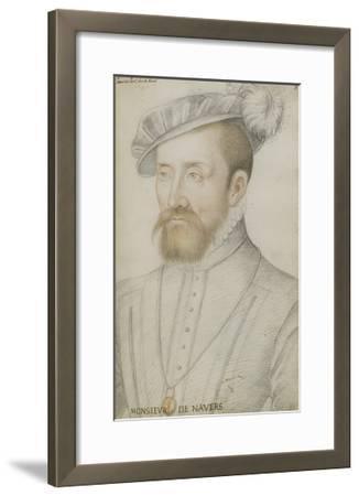 François De Cleves-Jean Clouet-Framed Giclee Print