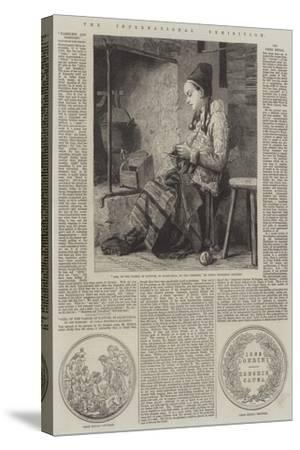 The International Exhibition-Johan Fredrik Hockert-Stretched Canvas Print