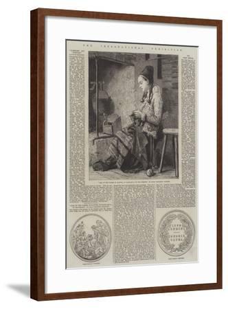 The International Exhibition-Johan Fredrik Hockert-Framed Giclee Print