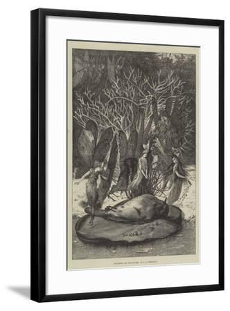 Poor Robin and the Fairies-John Anster Fitzgerald-Framed Giclee Print