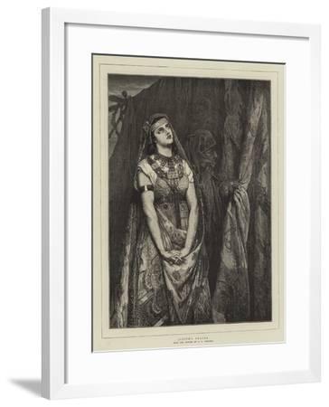 Judith's Prayer-Jean Francois Portaels-Framed Giclee Print