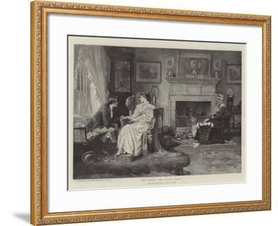 To Bring the Roses Back-John Arthur Lomax-Framed Giclee Print