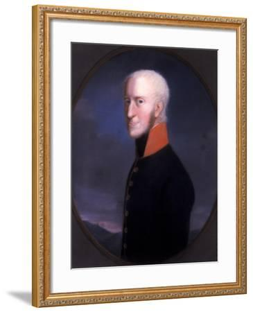 Georg I, Duke of Sachsen-Meinigen, after 1803-Johann Heinrich Schroder-Framed Giclee Print