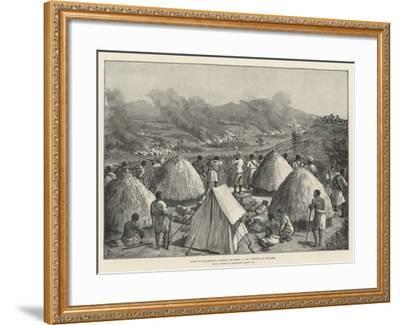 Stanley's Emin Pasha Relief Expedition-Johann Nepomuk Schonberg-Framed Giclee Print