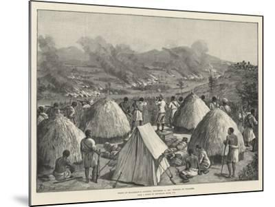 Stanley's Emin Pasha Relief Expedition-Johann Nepomuk Schonberg-Mounted Giclee Print