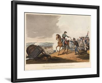 The Prince of Orange at the Battle of Waterloo-John Augustus Atkinson-Framed Giclee Print