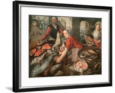 The Fish Market-Joachim Bueckelaer-Framed Giclee Print