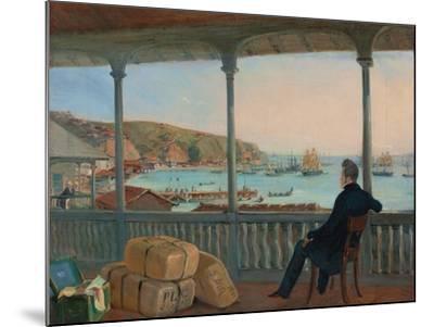 Valparaiso, 1841-Johann Moritz Rugendas-Mounted Giclee Print