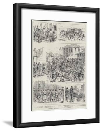 Sketches of the Bulgarian Elections-Johann Nepomuk Schonberg-Framed Giclee Print