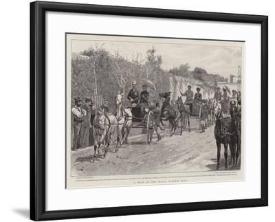 A Meet of the Malta Tandem Club-John Charlton-Framed Giclee Print