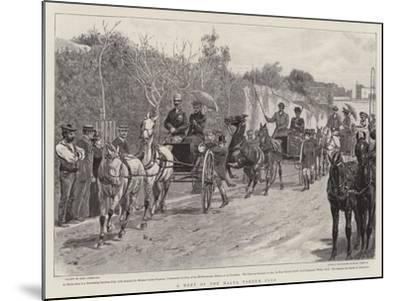 A Meet of the Malta Tandem Club-John Charlton-Mounted Giclee Print