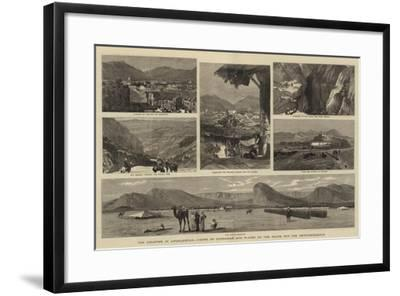 The Disaster in Afghanistan, Views of Candahar and Places on the Route for the Reinforcements-John Charles Dollman-Framed Giclee Print