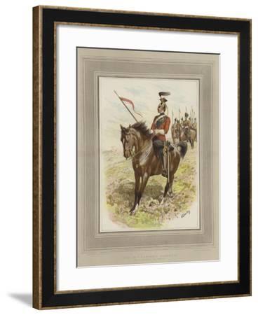 The 16th Lancers, (Queen's)-John Charlton-Framed Giclee Print