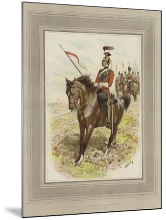 The 16th Lancers, (Queen's)-John Charlton-Mounted Giclee Print