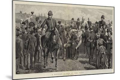 A Popular Winner at the Derby-John Charlton-Mounted Giclee Print