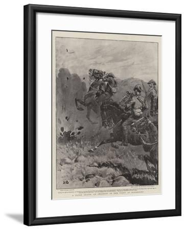 A Close Shave, an Incident in the Fight at Dordrecht-John Charlton-Framed Giclee Print