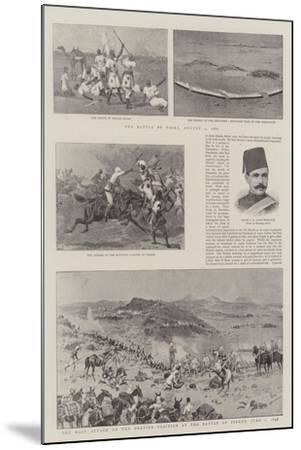 The Soudan Rebellion-John Charlton-Mounted Giclee Print