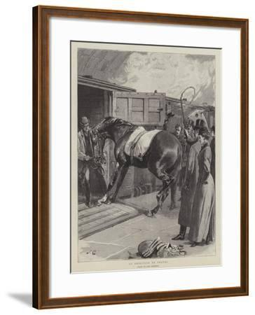 An Objection to Travel-John Charlton-Framed Giclee Print