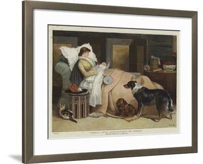 Should Auld Acquaintance Be Forgot-John Charles Dollman-Framed Giclee Print