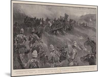 Between Two Fires, an Incident During the March on Kimberley by General French's Relief Column-John Charlton-Mounted Giclee Print
