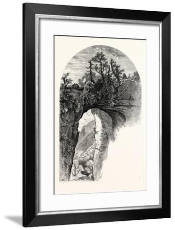 Natural Bridge, Virginia-John Douglas Woodward-Framed Giclee Print