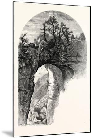 Natural Bridge, Virginia-John Douglas Woodward-Mounted Giclee Print